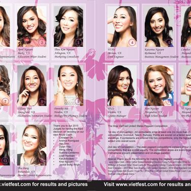 VF 2015 Contestants