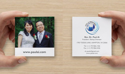 Paul Ai Ministries - Business Card