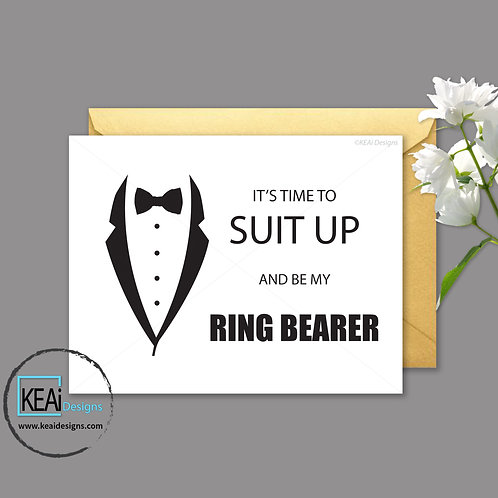 Tux - Will you be my *RING BEARER*