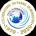 Paul Ai Ministries_Logo 2020_50 year cel
