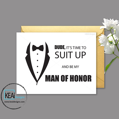 Tux - Will you be my *MAN OF HONOR*