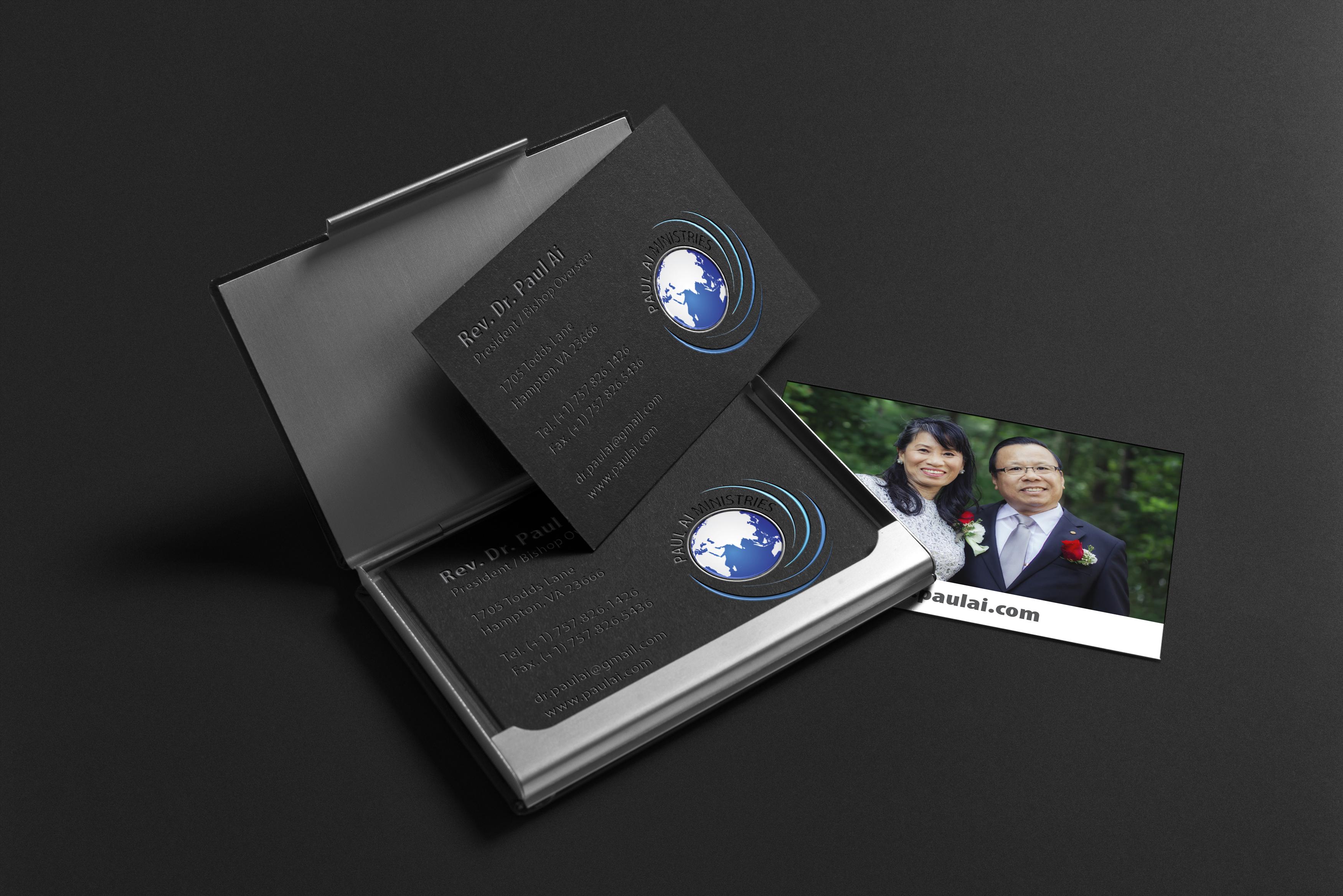 Paul Ai Ministries - Business Card