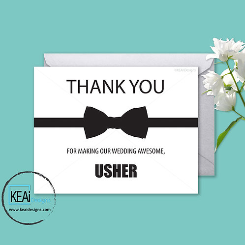 Bow Tie - THANK YOU *Usher*