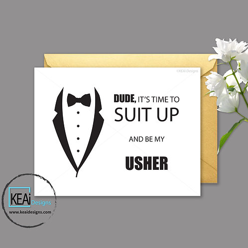 Tux - Will you be my *USHER*