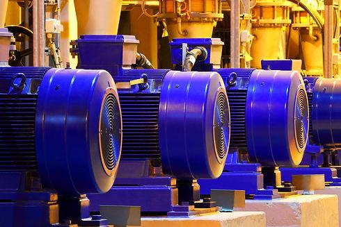 Factory motor machine equipment.Industri