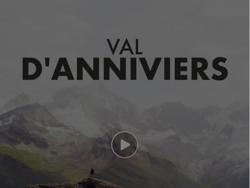 Welcome to the Val d'Anniviers
