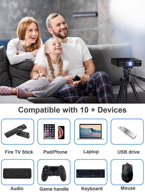 Aleenk Technologies 3D Smart TV Projector