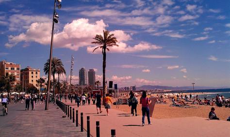 Barselona'da Plaj Olmak