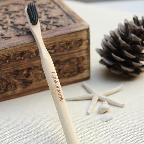 Bamboo Toothbrush - Natural