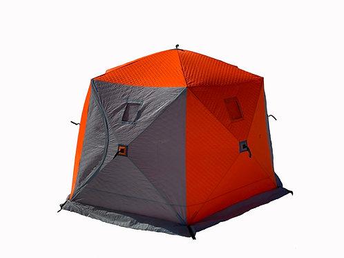 Утепленная палатка «Юрта» с возможностью установки печи
