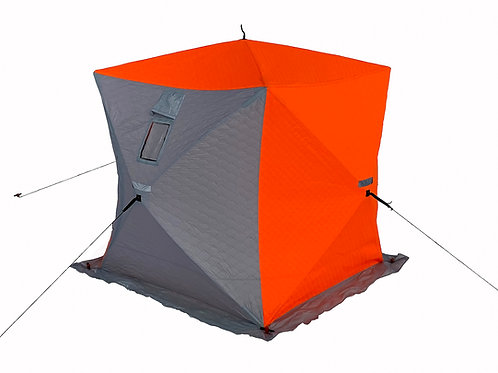 "Палатка ""Куб"" 1,8х1,8 утепленная с разделкой под трубу"
