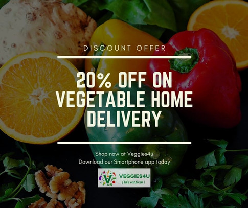 Veggies4u App Promotional Post