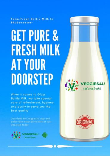 Veggies4u Bottle Milk