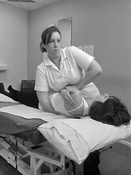 Portrai of Louise Boyer, Osteopath