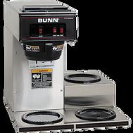 A bulk coffee machine