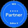 Wix partner badge, level 4
