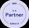 Wix partner badge, level 2