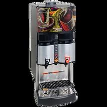 Coffee machine that serves decaf and regular coffee