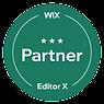Wix partner badge, level 3