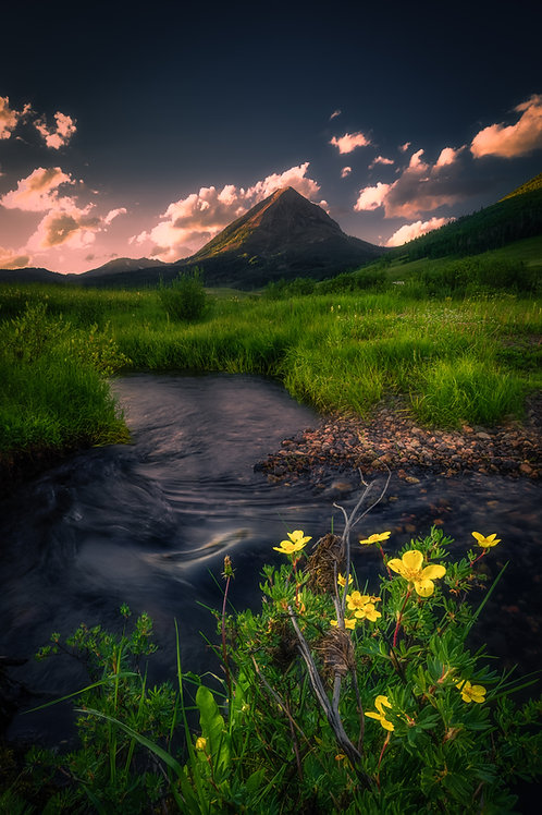 Crested Butte Metal Print 32