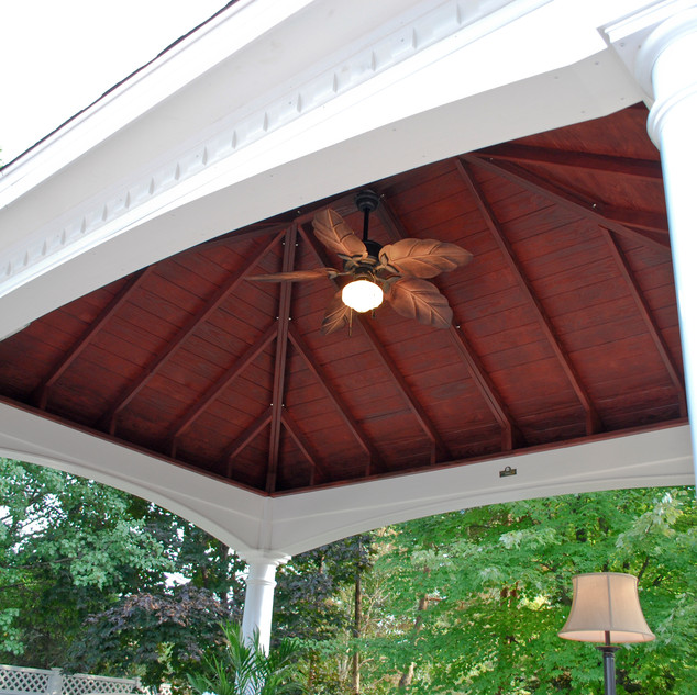 12'x16' Hampton Pavilion Ceiling View -
