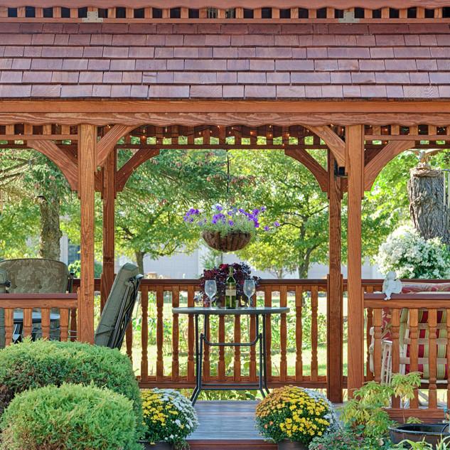 12x24 Oval - New England Style - Wood Ga