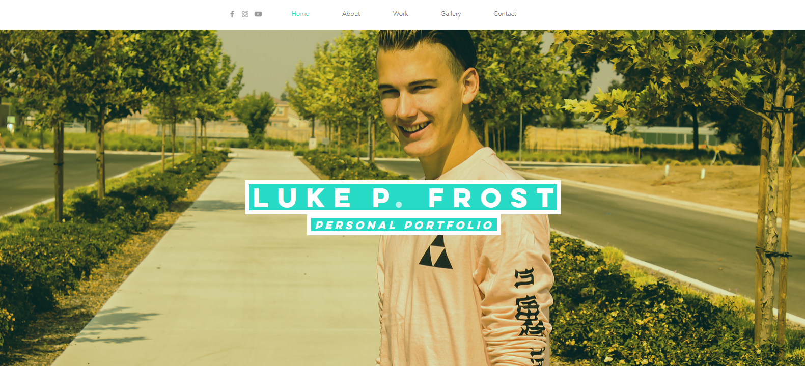 Luke Frost | Personal Portfolio