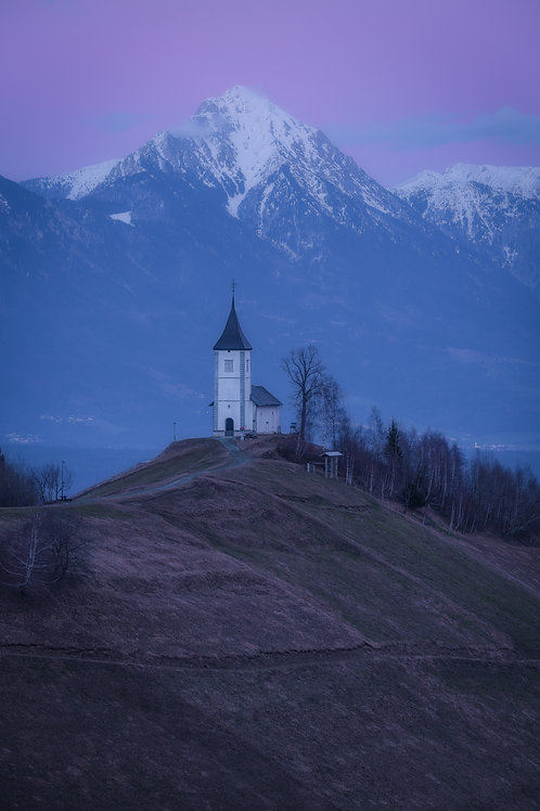 Slovenia Acrylic Metal Print 8