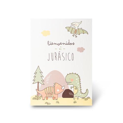 Cartel de Bienvenidas - Dinos