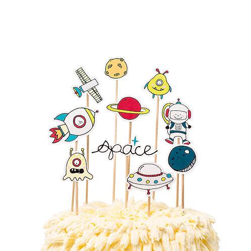 Cake toppers - Espacio