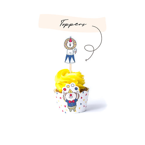 Toppers - Circo