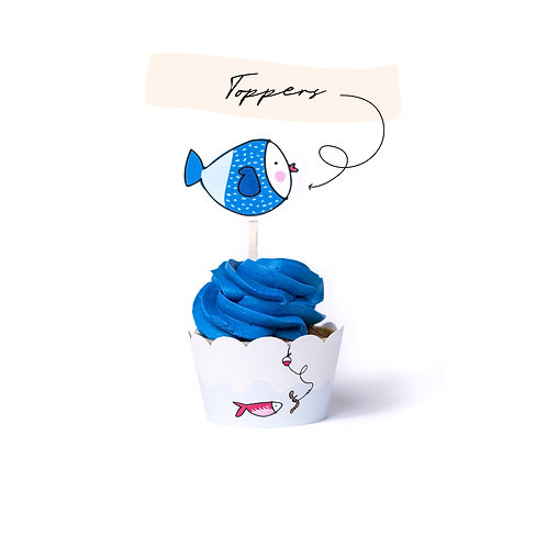 Toppers - Fishing Party
