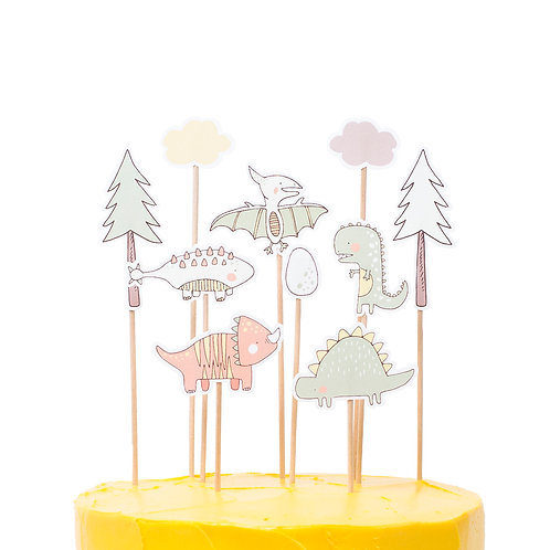 Cake toppers - Dinos
