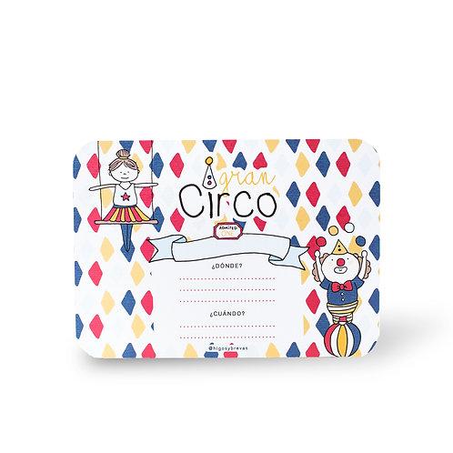 Invitaciones - Circo