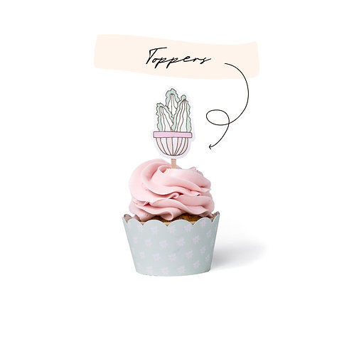 Toppers - Cactus