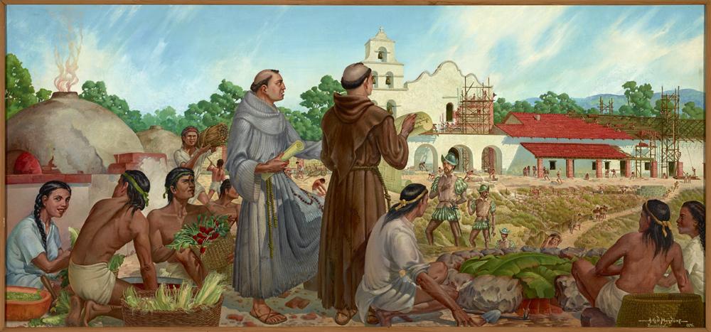 Mision San Diego de Alcala 1976