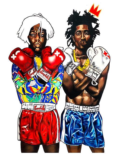 Biggie Warhol X Tupac Basqiuat