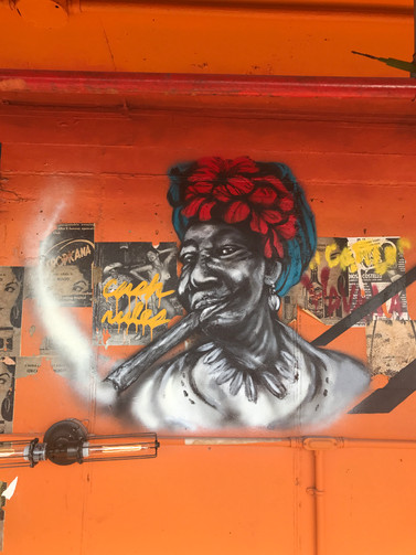 Rear Mural