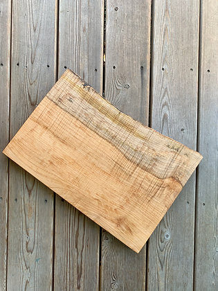 Salvaged Spalted Maple Cutting Board