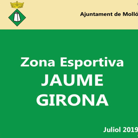 El Ple aprova anomenar la zona esportiva amb el nom de Jaume Girona