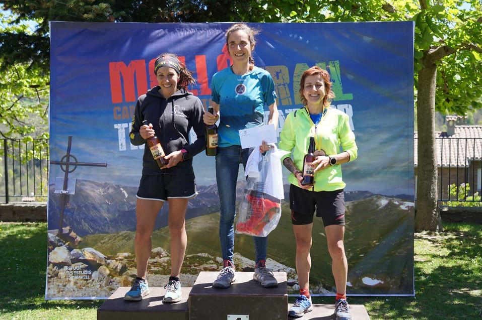 Podi Molló Trail 35 km femení 2019