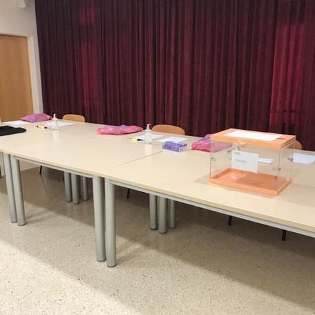 Tot preparat per les eleccions del 14F a Molló