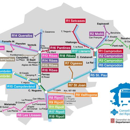 Horaris del transport escolar 2020/2021