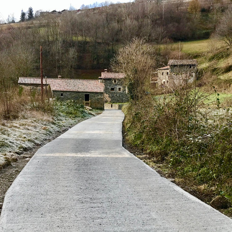 16.925,96€ per a la millora del paviment d'alguns trams de la carretera del Riberal i Ginestosa