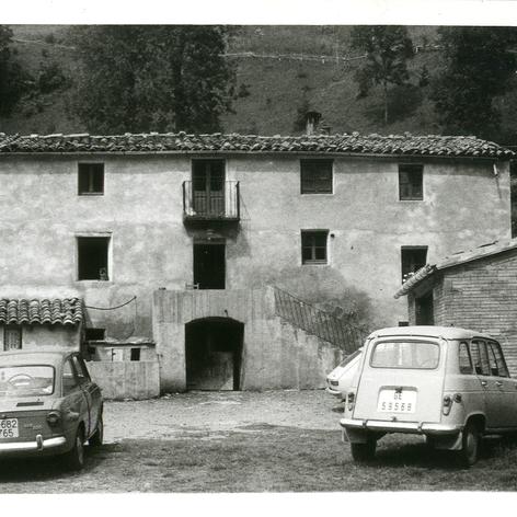 La casa de Les Planes a Espinavell.
