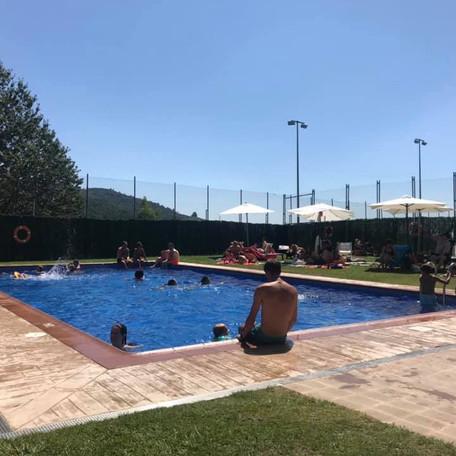Novetats a la piscina: canvi del clor per sal i wifi gratuït.