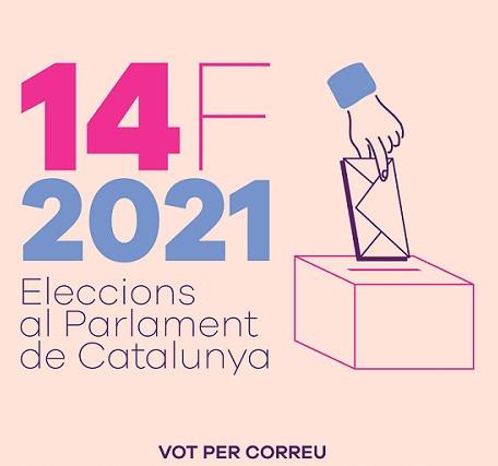 Es pot demanar el vot per correu fins el 5 de febrer a les 14 hores.