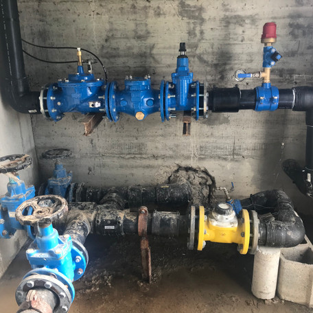 Acaben les obres de millora de l'abastament d'aigua a Favars i renovació de la canonada de Molló