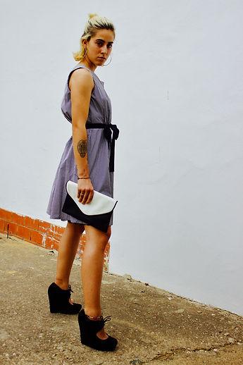 JULIA KOO gingham happy dress. Sevilla. JHB photograhy