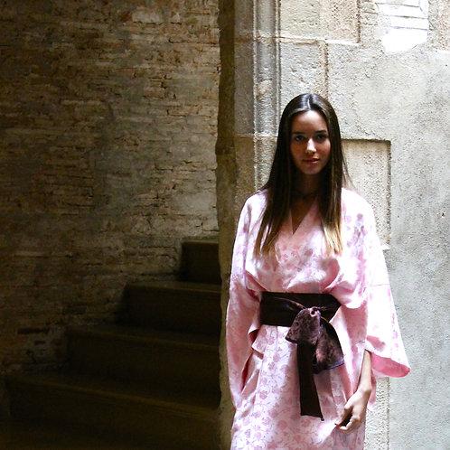 Classic Kimono pink blossom